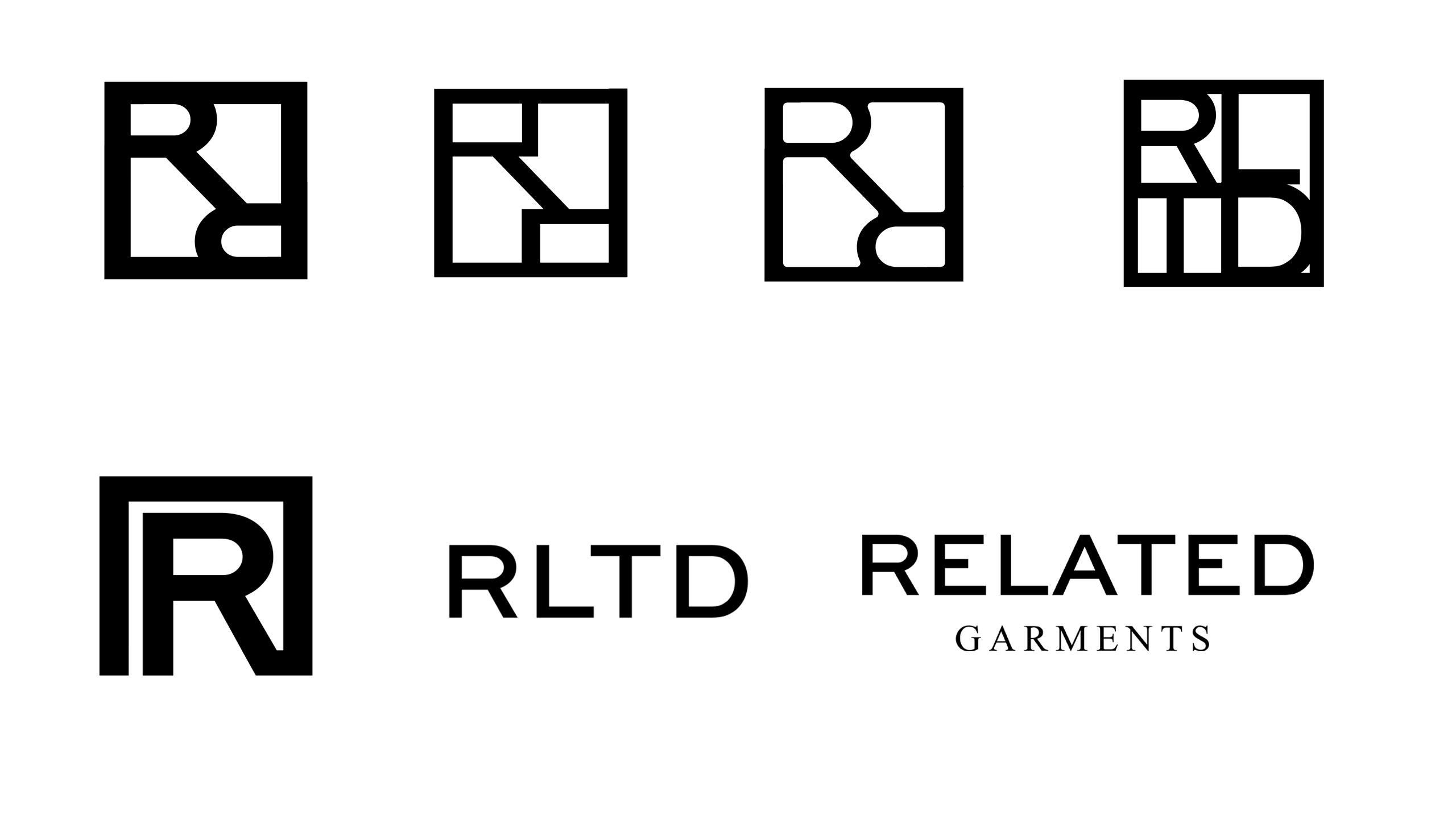 related-logo collage